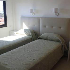 Dormitorio con opción 2 camas individuales